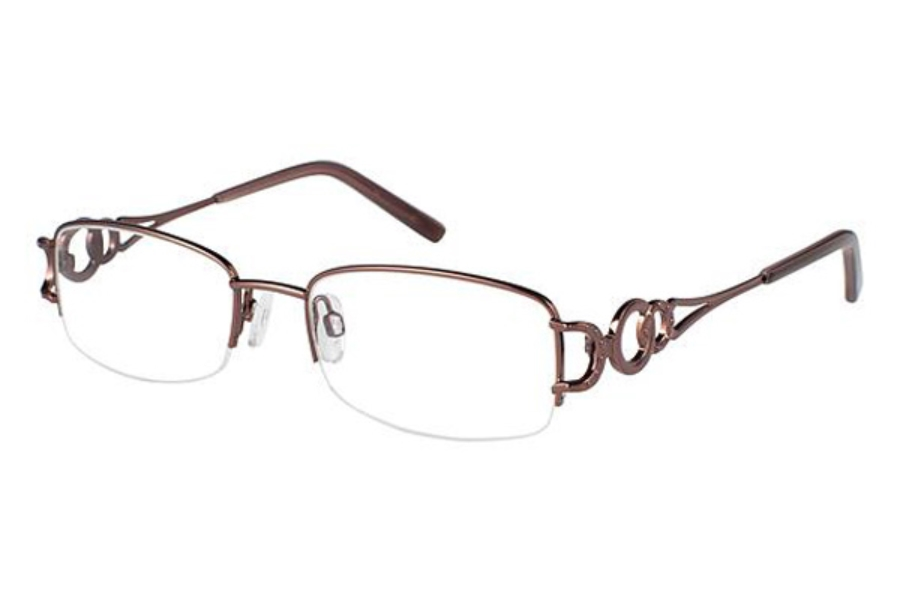 Caravaggio Caravaggio 115 Eyeglasses in BRN Brown